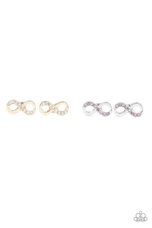 Paparazzi Starlet Shimmer Infinity Earrings