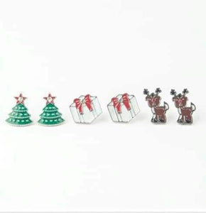 Paparazzi Starlet Shimmer Christmas Earrings 2018