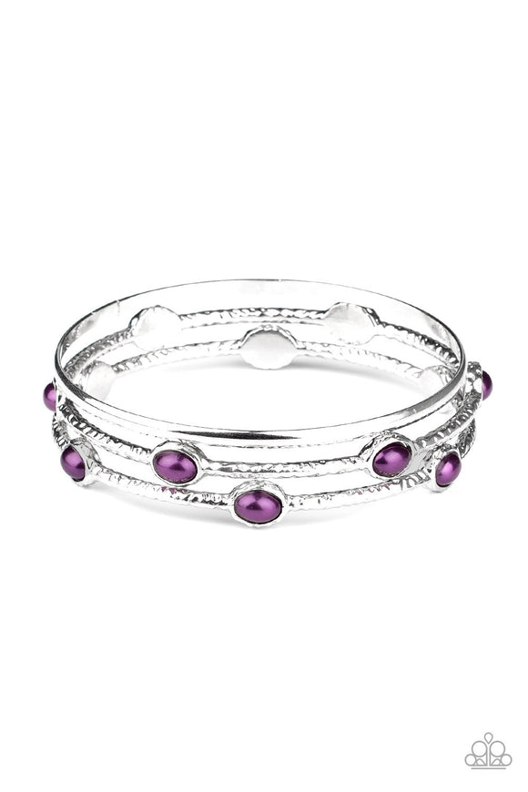 Paparazzi Bangle Belle - Purple