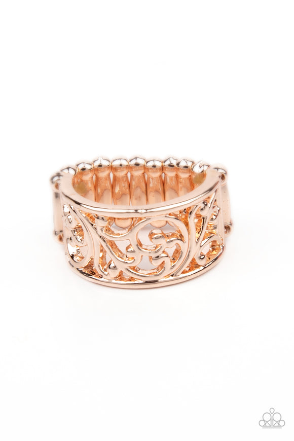 Paparazzi Di-VINE Design - Rose Gold