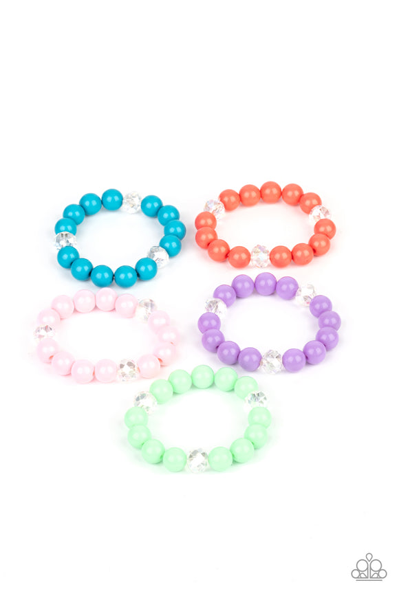 Paparazzi Starlet Shimmer Colorful Beads With Crystal-Like Accents Bracelets