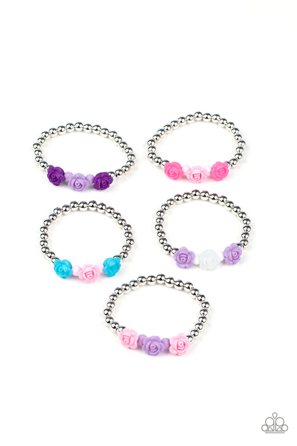 Paparazzi Starlet Shimmer Colorful Rose Bracelets