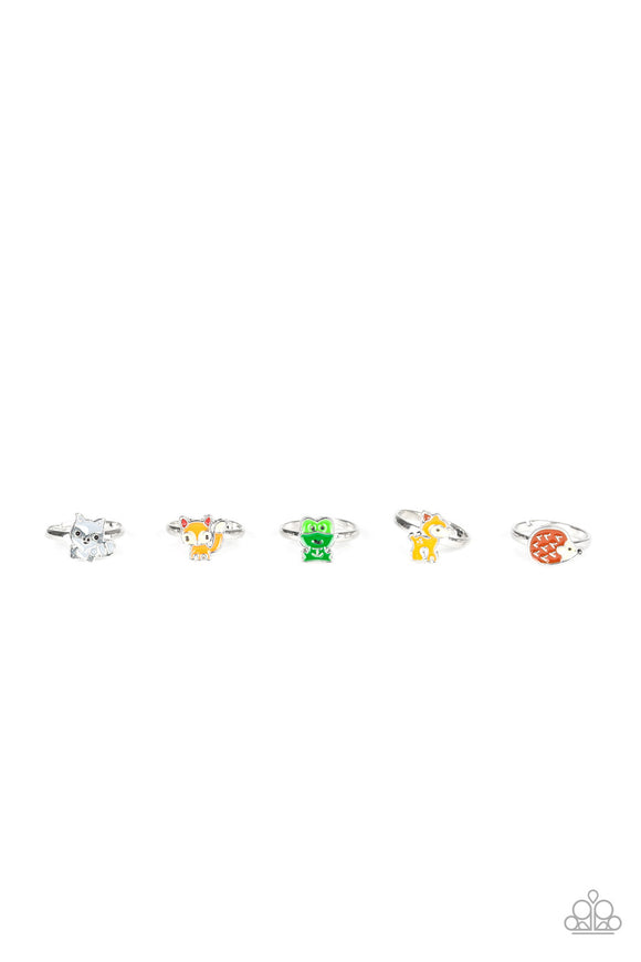Paparazzi Starlet Shimmer Forest Animal Rings