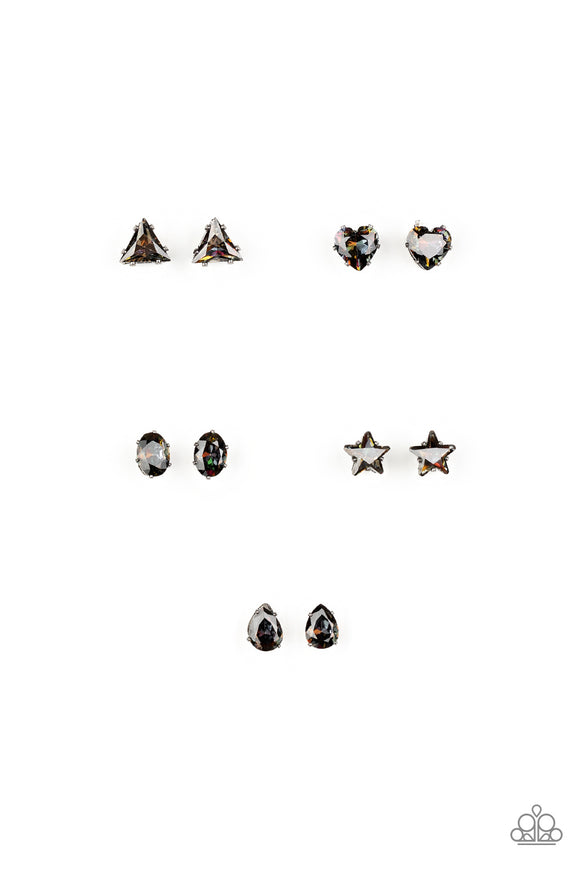Paparazzi Starlet Shimmer Oil Spill Iridescent Earrings