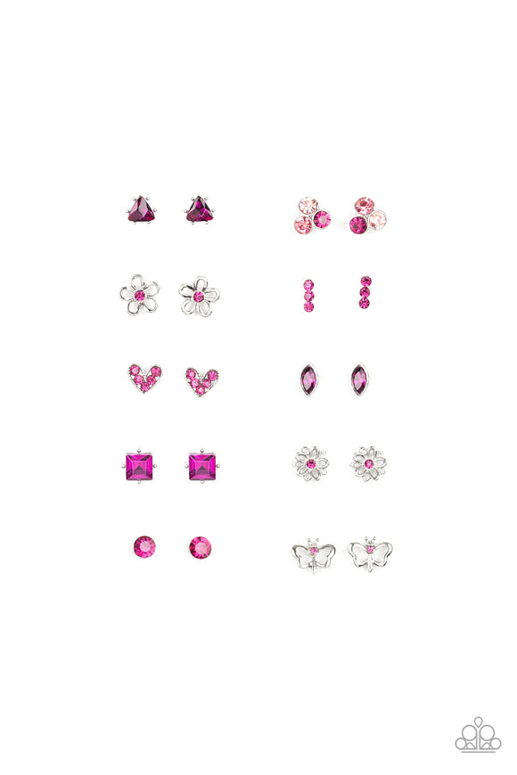 Paparazzi Starlet Shimmer Pretty Shape Earrings