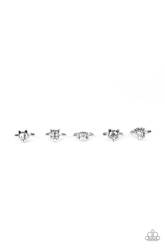 Paparazzi Starlet Shimmer Silver Animal Rings