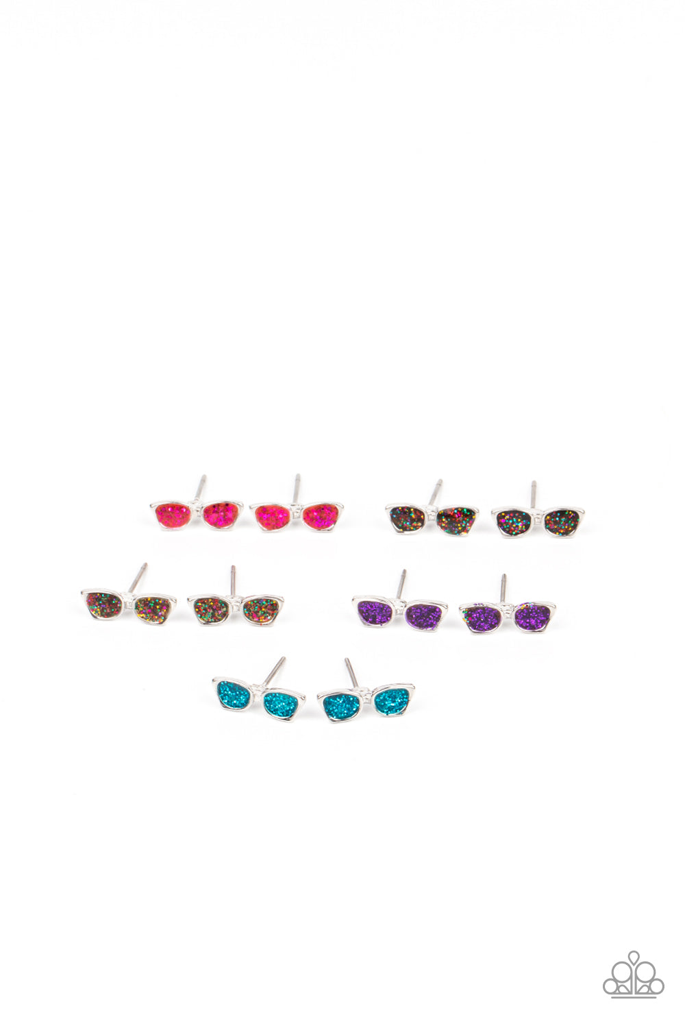 Paparazzi Sparkly Sunglasses Earrings (2302)