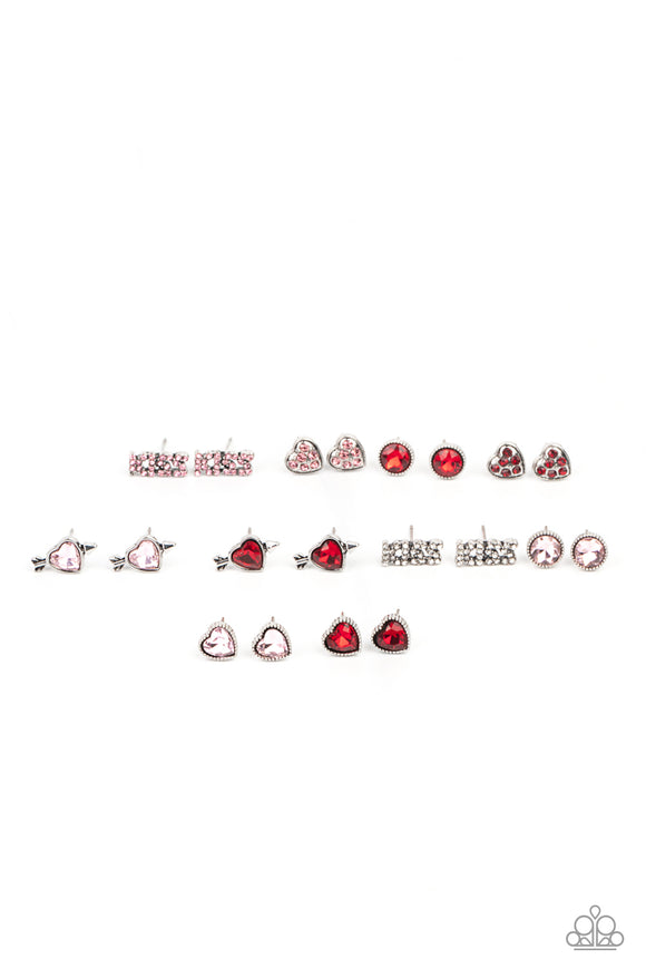 Paparazzi Starlet Shimmer Valentine's Day Inspired Rhinestone Earrings