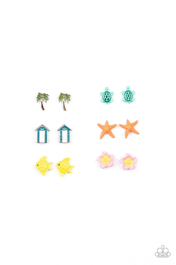 Paparazzi Starlet Shimmer  Beach Inspired Earrings