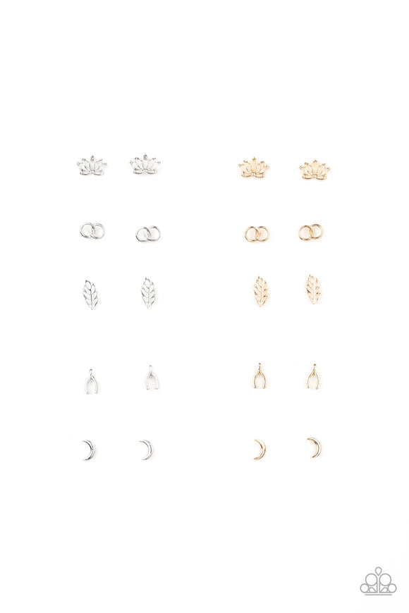 Paparazzi Starlet Shimmer Whimsical Shapes Earrings