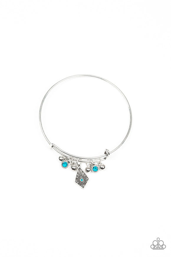Paparazzi Treasure Charms - Blue