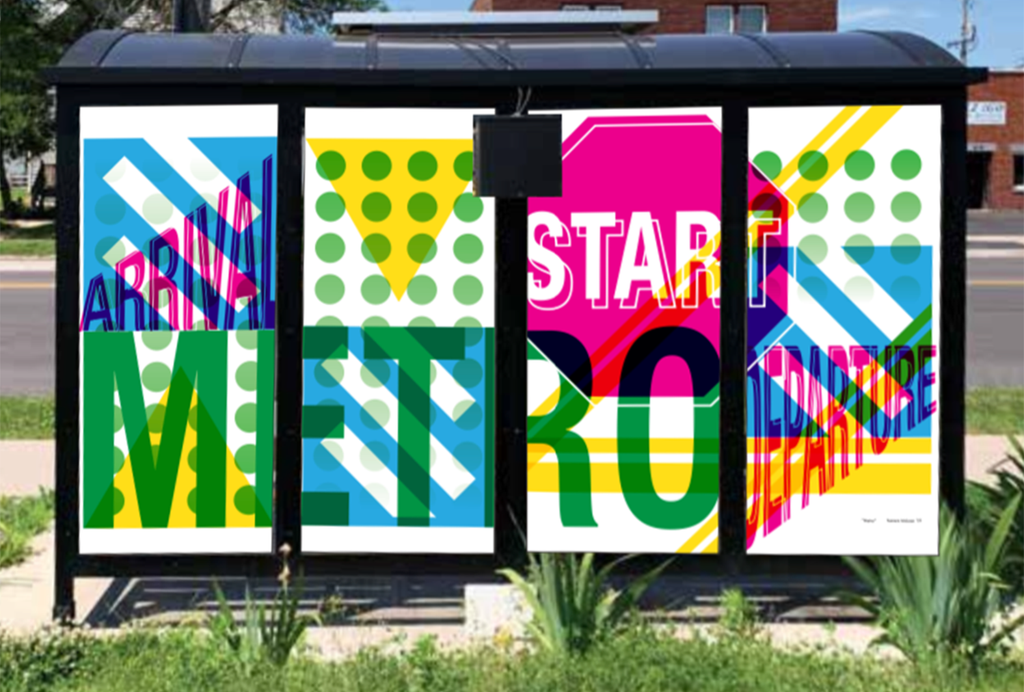 Green Bay Metro Bus Shelter Public Art