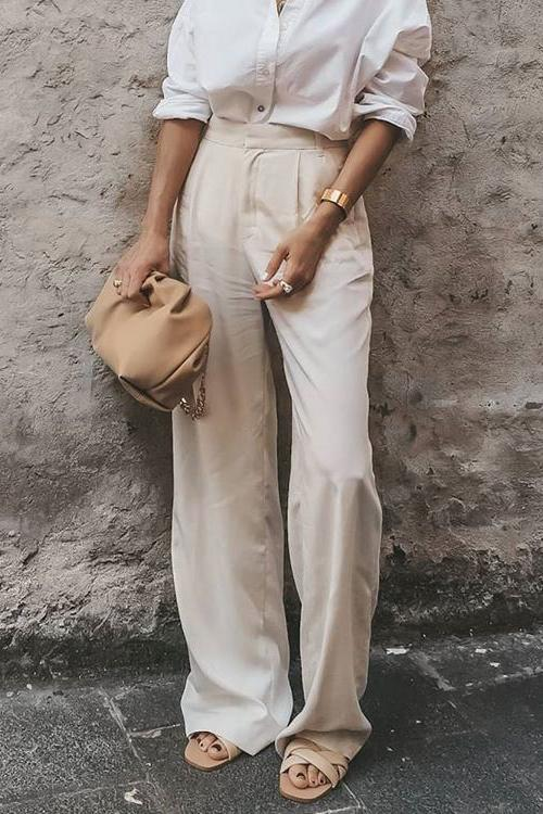 High Waist Loose Pants