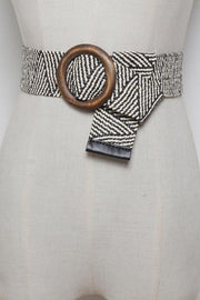 Bohemia Weave O Ring Belt