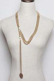 Its A Vibe Chain Belt In Gold