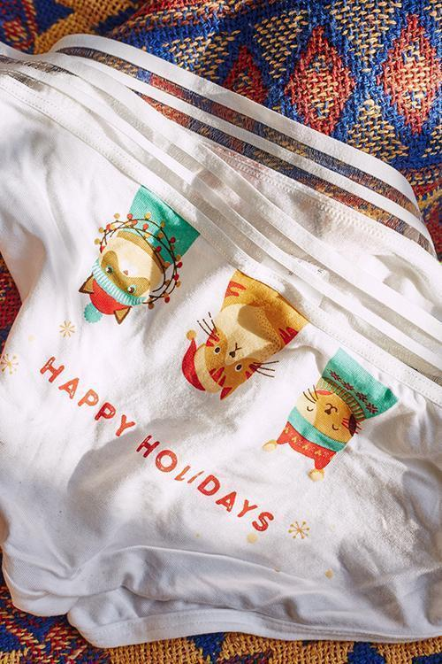 Holiday Print Panty