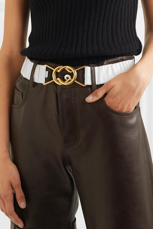 Pleated Belt
