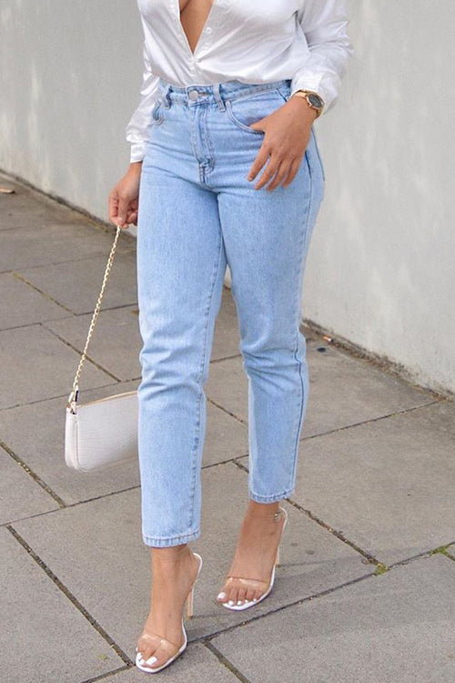 Classical Straight-leg Jeans