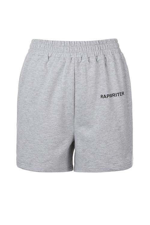 Letter Pockets Sports Shorts