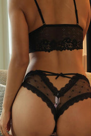 Low Waist Lace Thong