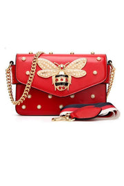 Pearl Bee Chians Shoulder Bag