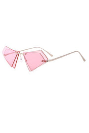 Triangle Design Sunglasses