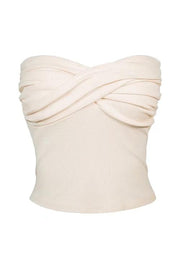 Twist Front Tube Top