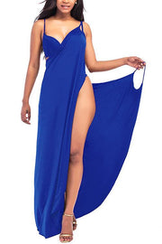 Backless Slip Cover Up