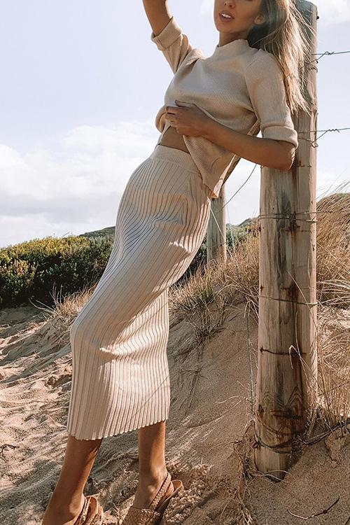 Knit Bodycon Skirts