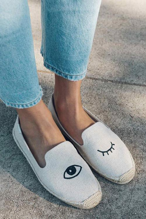 Flamingo Slipper Espadrilles
