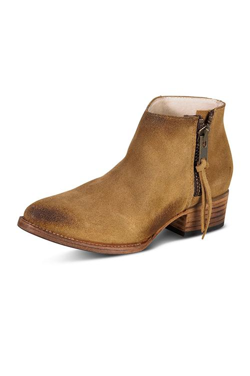 Zipper Low Heel All Season Booties