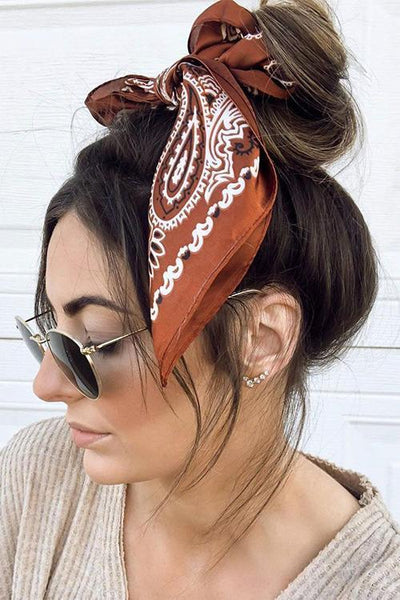 Wear A Scarf In Your Hair