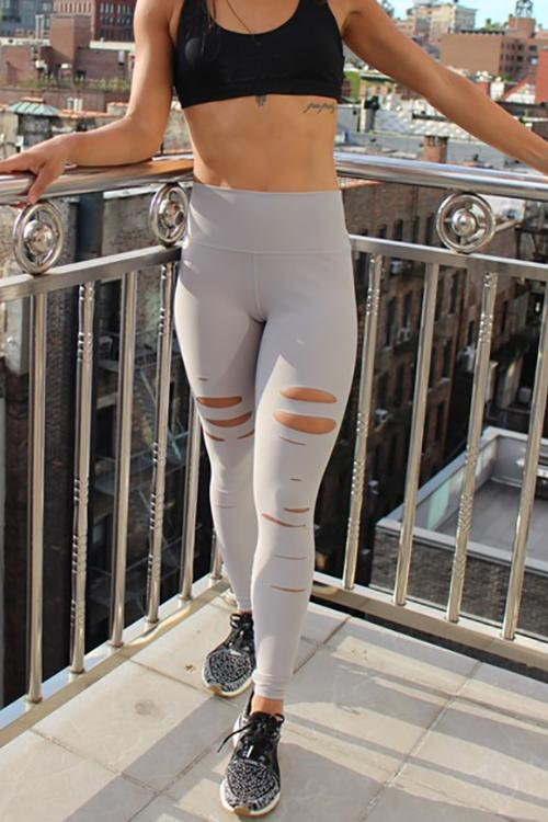 Ripped Yoga Leggings