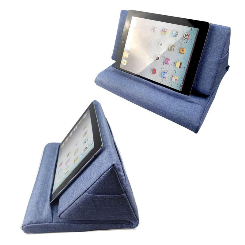 multi angle soft pillow lap stand for ipads upgrade version doodstage. Black Bedroom Furniture Sets. Home Design Ideas