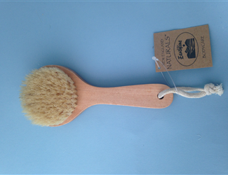 Earthline Natural Body Brush, 10 inches