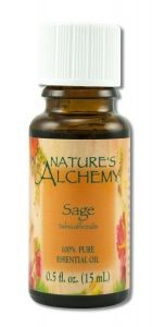 Nature's Alchemy Sage Essential Oil, .5 ounce