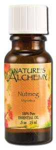 Nature's Alchemy Nutmeg Essential Oil, .5 ounce