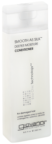 Giovanni Smooth as Silk Deeper Moisture Conditioner, 8.5 oz.