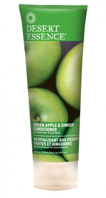 Desert Essence Hair Conditioner, Green Apple, 8oz