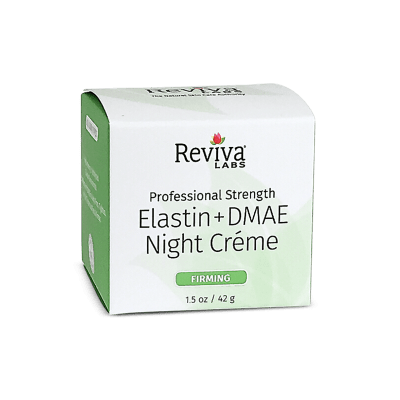 Reviva Labs Elastin & DMAE Night Cream for Firming, 1.5 oz.