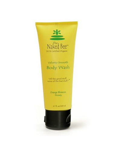 The Naked Bee Body Wash, 6.7 oz. Tube, Orange Blossom & Honey