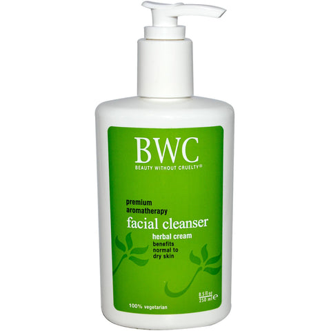 Beauty Without Cruelty Herbal Cream Facial Cleanser, 8.5 oz.