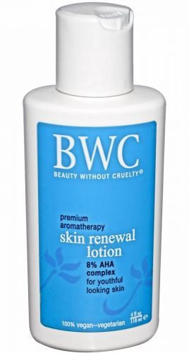 Beauty Without Cruelty AHA Renewal Moisture Lotion, 4 oz.