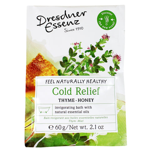 Dresdner Essenz Cold Relief Bath Packet, 60gm/2.1 oz