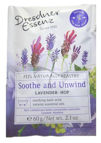 Dresdner Essenz Soothe & Unwind Bath Packet, 60gm/2.1 oz