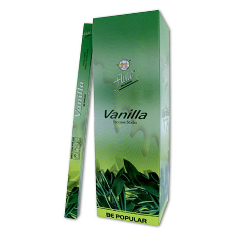 Flute Incense, 8 Stick Box, Vanilla