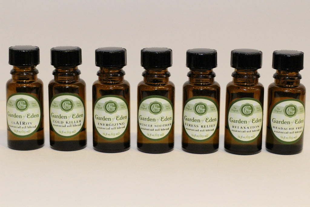 Garden of Eden Energizing Essential Oil Blend, 1/2 oz.