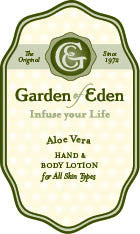 Garden of Eden Aloe Vera Hand & Body Lotion