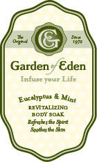 Garden of Eden Eucalyptus & Mint Bath Soak