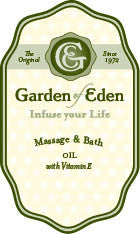 Garden of Eden Massage & Bath Oil